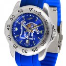 Memphis Tigers Sport AnoChrome Colored Band  Watch