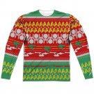 "Star Trek ""Holiday"" Adult Regular Fit Long Sleeve T Shirt (Front/Back Print) #2"