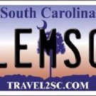 Clemson South Carolina Novelty Metal License Plate