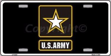 Army Novelty Vanity Metal License Plate