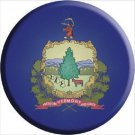 Vermont State Flag Metal Circular Sign