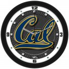 UC Berkeley Bears Carbon Fiber Textured Wall Clock