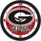 Georgia Bulldogs Dimensional Wall Clock