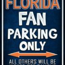 Florida Metal Novelty Parking Sign