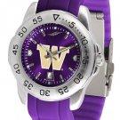 Washington Huskies Sport AnoChrome Colored Band  Watch