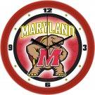 Maryland Terrapins Dimensional Wall Clock