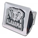 University of Alabama (Crimson Tide) Shiny Chrome Hitch Cover