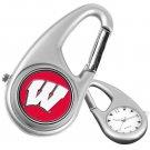 Wisconsin Badgers Carabiner Watch