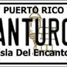 Santurce Puerto Rico Metal Novelty License Plate