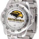 Southern Miss Golden Eagles Mens' Sport Steel Watch