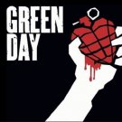 Green Day License Plate