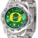 Oregon Ducks Mens' Sport Steel AnoChrome Watch