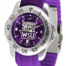 Weber State Wildcats Sport AnoChrome Colored Band  Watch