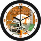 Tennessee Volunteers Football Helmet Wall Clock