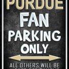 Purdue Metal Novelty Parking Sign