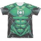 "Green Lantern ""Uniform"" Adult Regular Fit Short Sleeve T Shirt 65/35 Poly/Cotton"