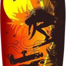 Born To Surf Metal Novelty Surf Board Sign
