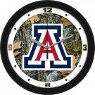 Arizona Wildcats Camo Wall Clock