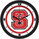 NC State Wolfpack Traditional Wall Clock