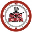 South Dakota Coyotes Traditional Wall Clock