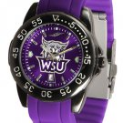 Weber State Wildcats FantomSport AnoChrome Colored Band Watch