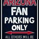 Arizona Metal Novelty Parking Sign