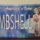 Marilyn Monroe Bombshell Novelty License Plate