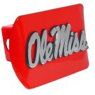 """University of Mississippi """"Ole Miss"""" Red Hitch Cover"""