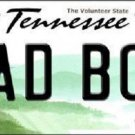 Bad Boy Tennessee Novelty Metal License Plate LP-6437