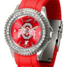 Ohio State Buckeyes Sparkle Watch