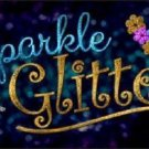Sparkle And Glitter Metal Novelty License Plate