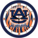 Auburn Tigers Dimensional Wall Clock