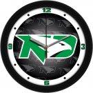 North Dakota Fighting Hawks Dimensional Wall Clock