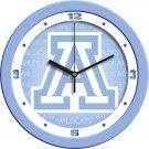 Arizona Wildcats Baby Blue Wall Clock