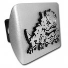 Texas Christian (Horned Frog) Brushed Chrome Hitch Cover