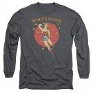 "Wonder Woman ""Wonder Circle"" Adult Long Sleeve T Shirt"