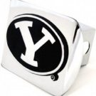 BYU Cougars Chrome Hitch Cover