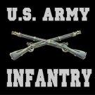 U.S. Army Infantry License Plate