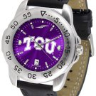 TCU Horned Frogs Mens' Sport AnoChrome Watch