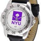 NYU Violets Mens' Sport Watch