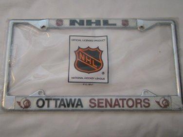 Ottawa Senators Chrome License Frame (Please read)