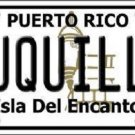 Luquillo Puerto Rico Novelt Metal Novelty License Plate