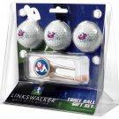 Fresno State Bulldogs Cap Tool 3 Ball Gift Pack