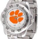 Clemson Tigers Mens' Sport Steel Watch