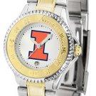 Illinois Fighting Illini Ladies' Competitor Two-Tone Watch