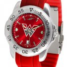 Western State Colorado University Sport AnoChrome Colored Band Watch