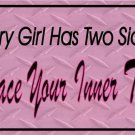 Embrace Your Inner Tomboy Photo License Plate