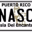 Anasco Puerto Rico Metal Novelty License Plate
