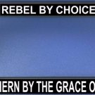Rebel By Choice Photo License Plate Frame