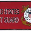 United States Coast Guard Novelty Metal License Plate